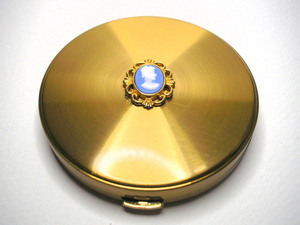 Vintage Powder Compact Margaret Rose